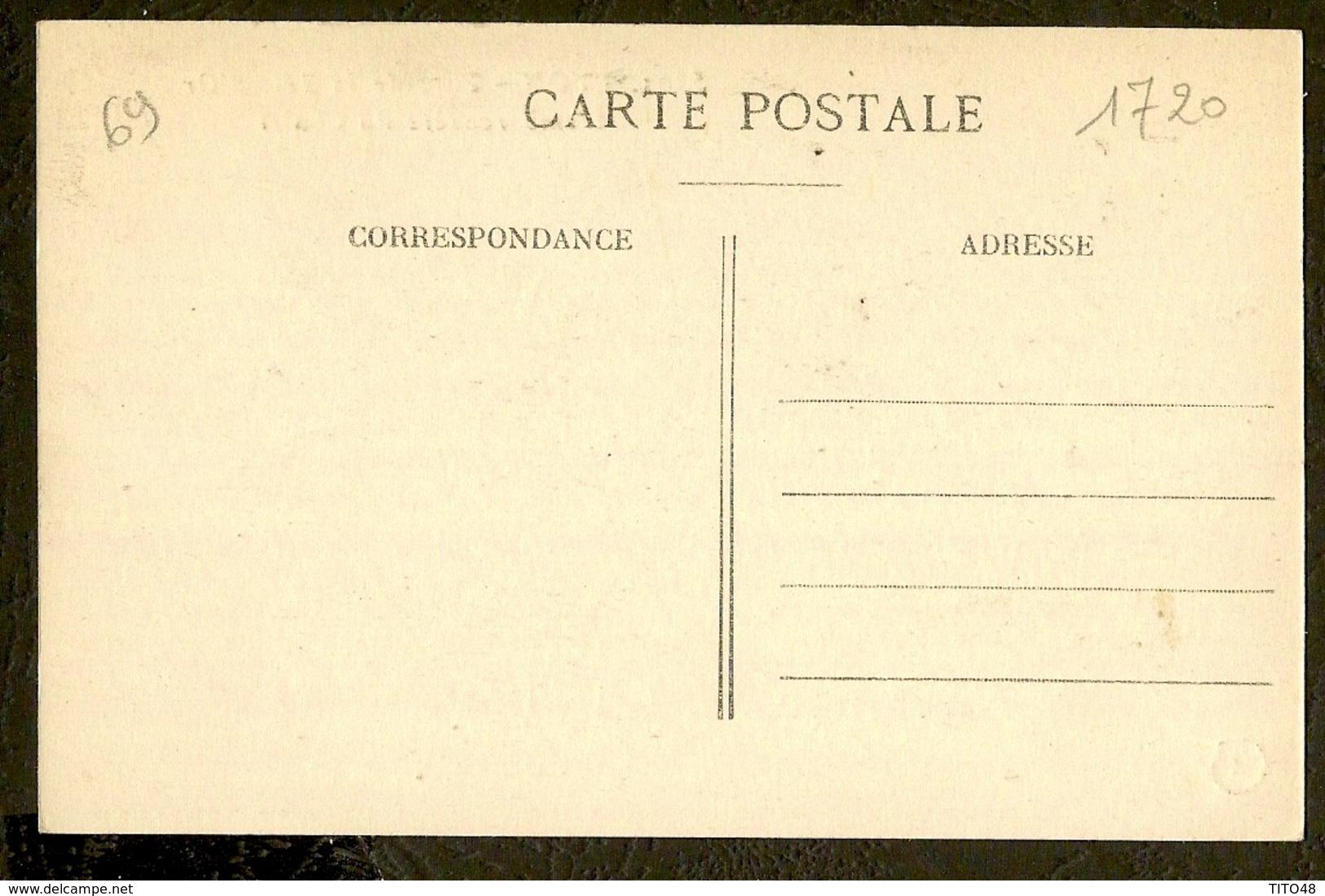 CP-LYON - Parc De La Tête-d'Or - L'Embarcadére Du Chalet - Altri
