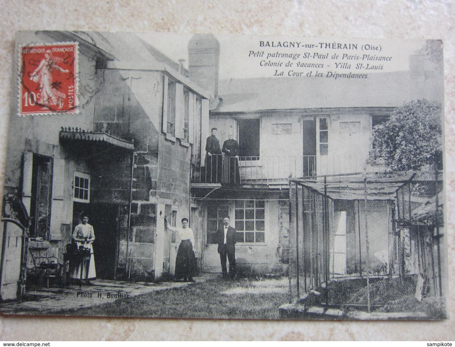 BALAGNY SUR THERAIN - Petit Patronage St Paul De Paris-Plaisance, Colonie De Vacances, Villa ST Louis - Francia