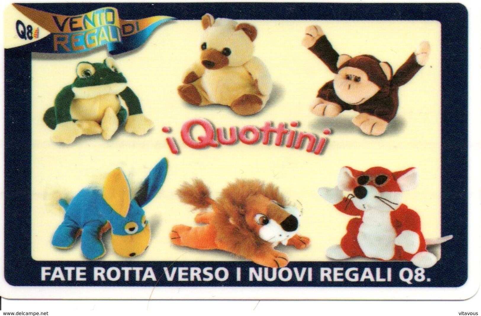 Nounours Peluche Ours Animaux Teddy Télécarte Italie  Jeu G 478 - Jeux