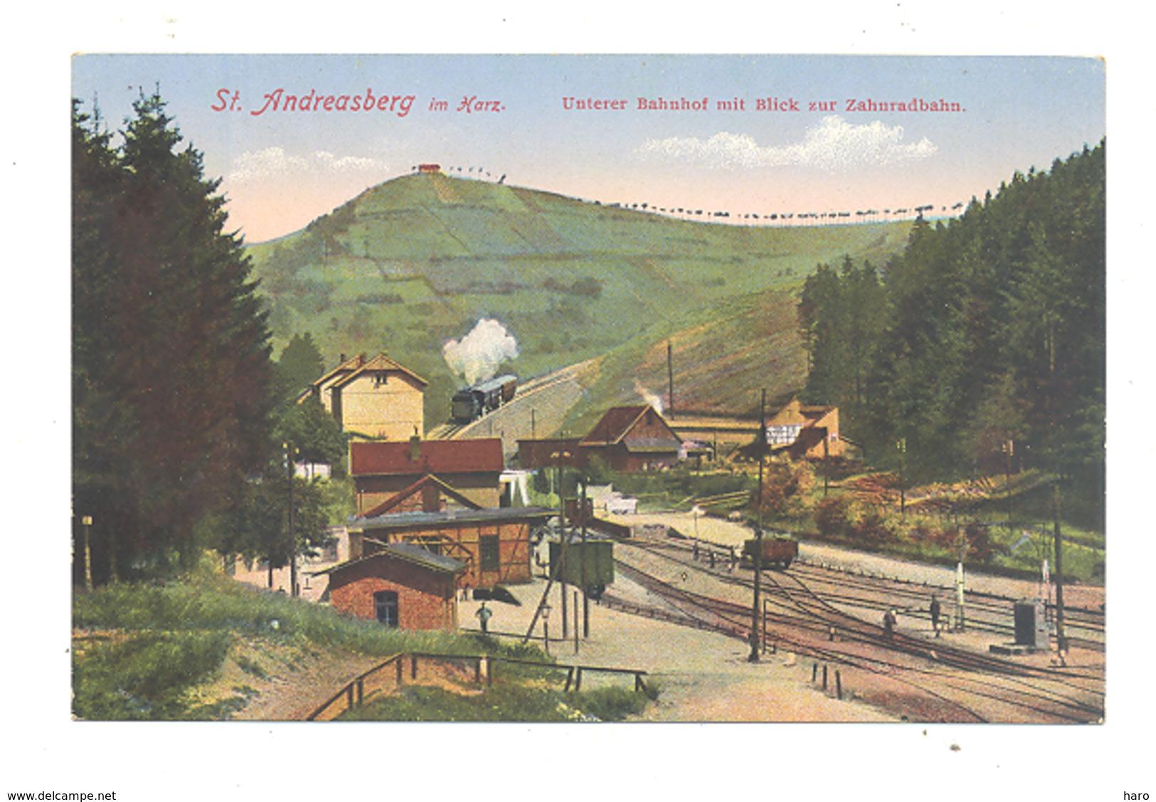 St ANDREASBERG - Bahnhof, Gare, Station,... (b240) Y81 - St. Andreasberg