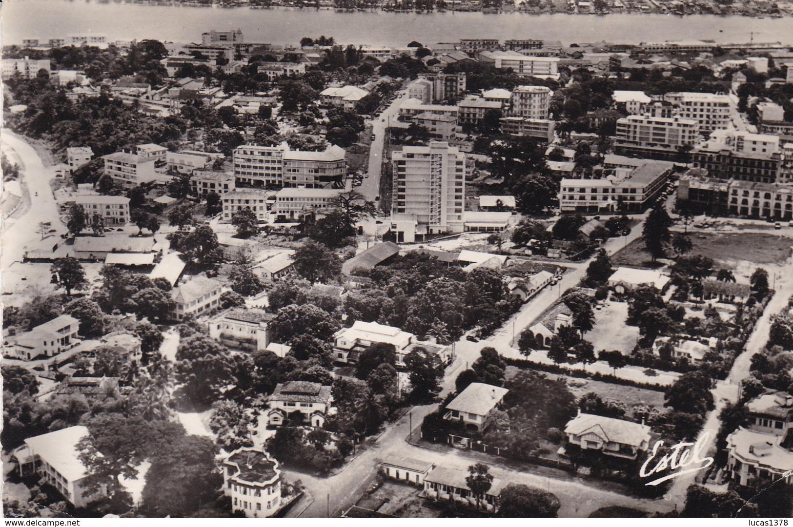 ABIDJAN PLATEAU / VUE AERIENNE / CIRC 1958 - Côte-d'Ivoire