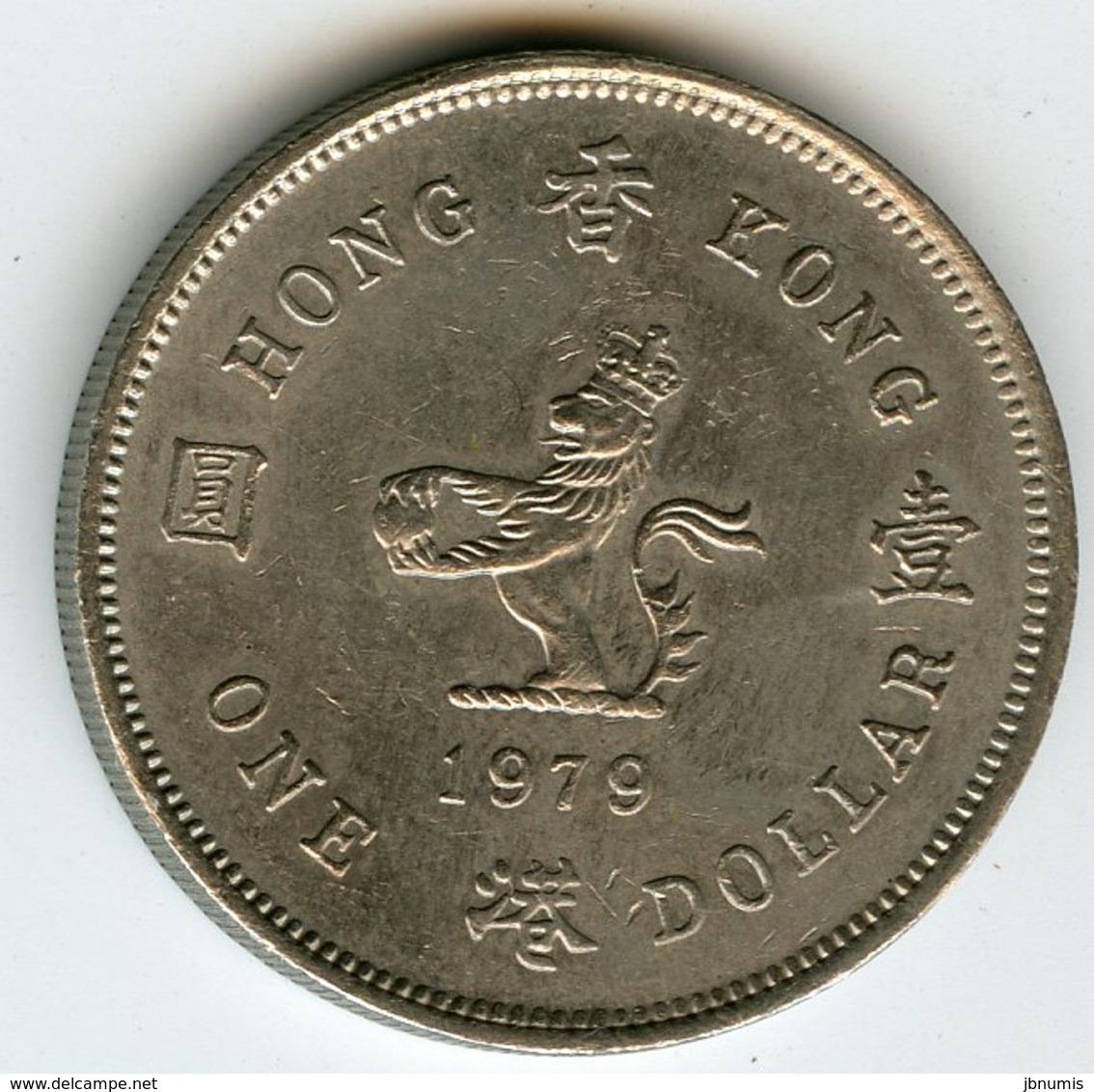 Hong Kong 1 Dollar 1979 KM 43 - Hong Kong