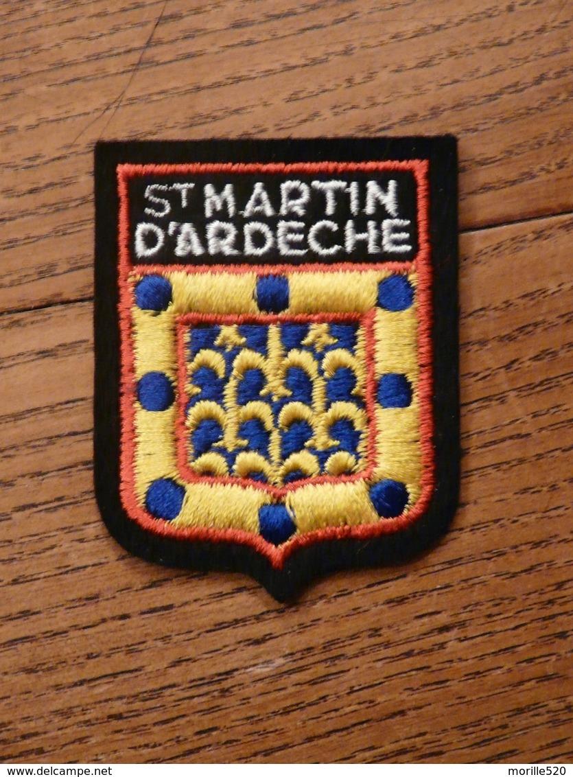 Ecusson à Coudre De Saint-Martin-d'Ardèche (07) - Ecussons Tissu