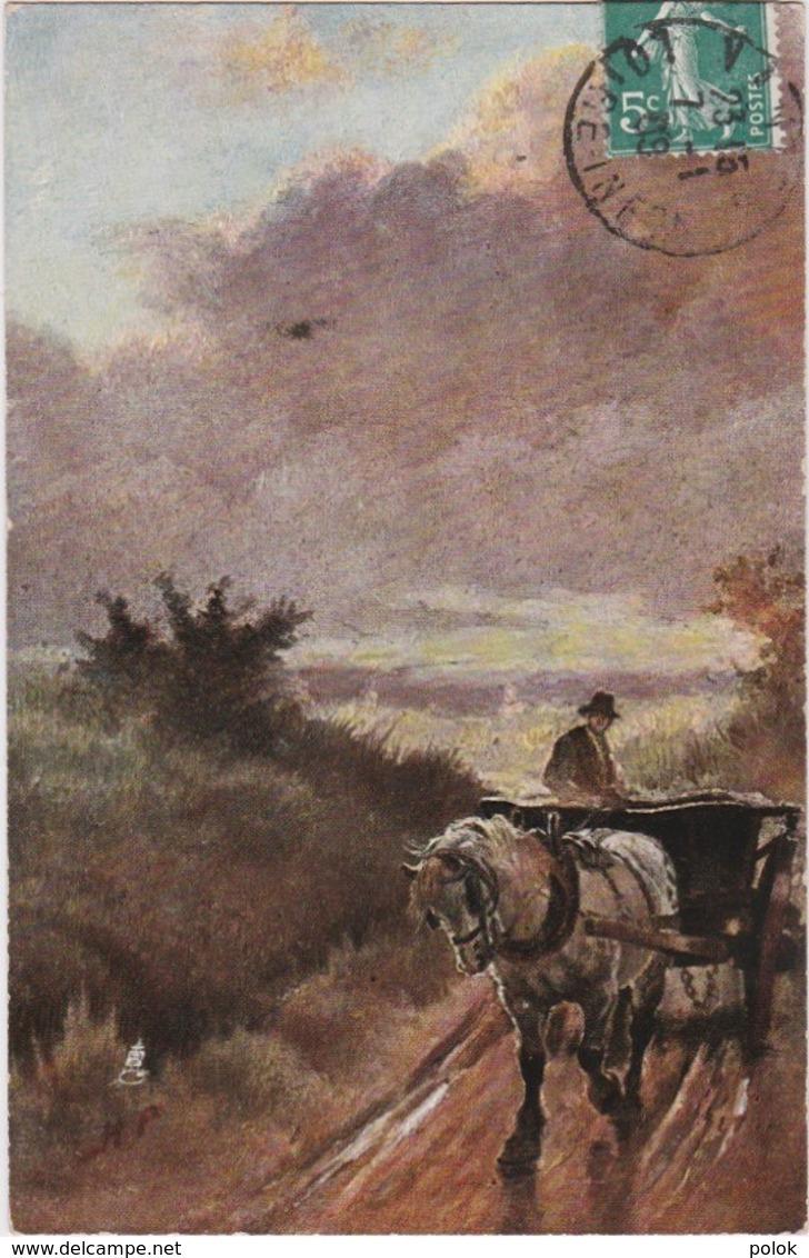 Bn - Cpa Illustrée Tuck - Surrey Lanes - Going Home - Tuck, Raphael