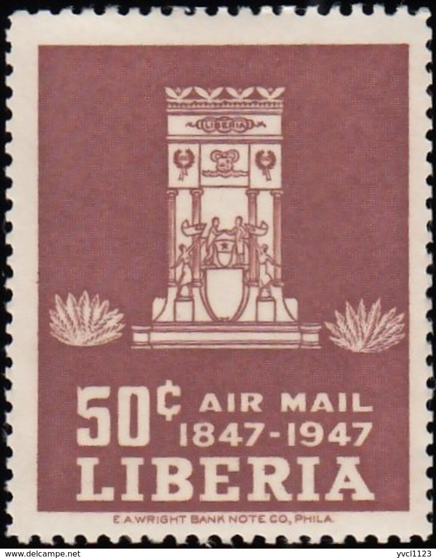 LIBERIA - Scott #C60 Centenary Of Independence / Mint H - Liberia