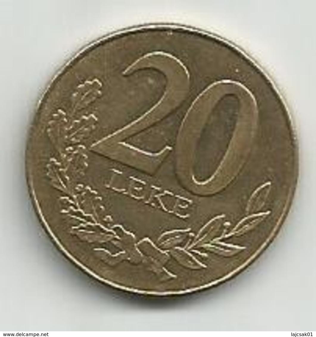 Albania 20 Leke 1996. - Albanie