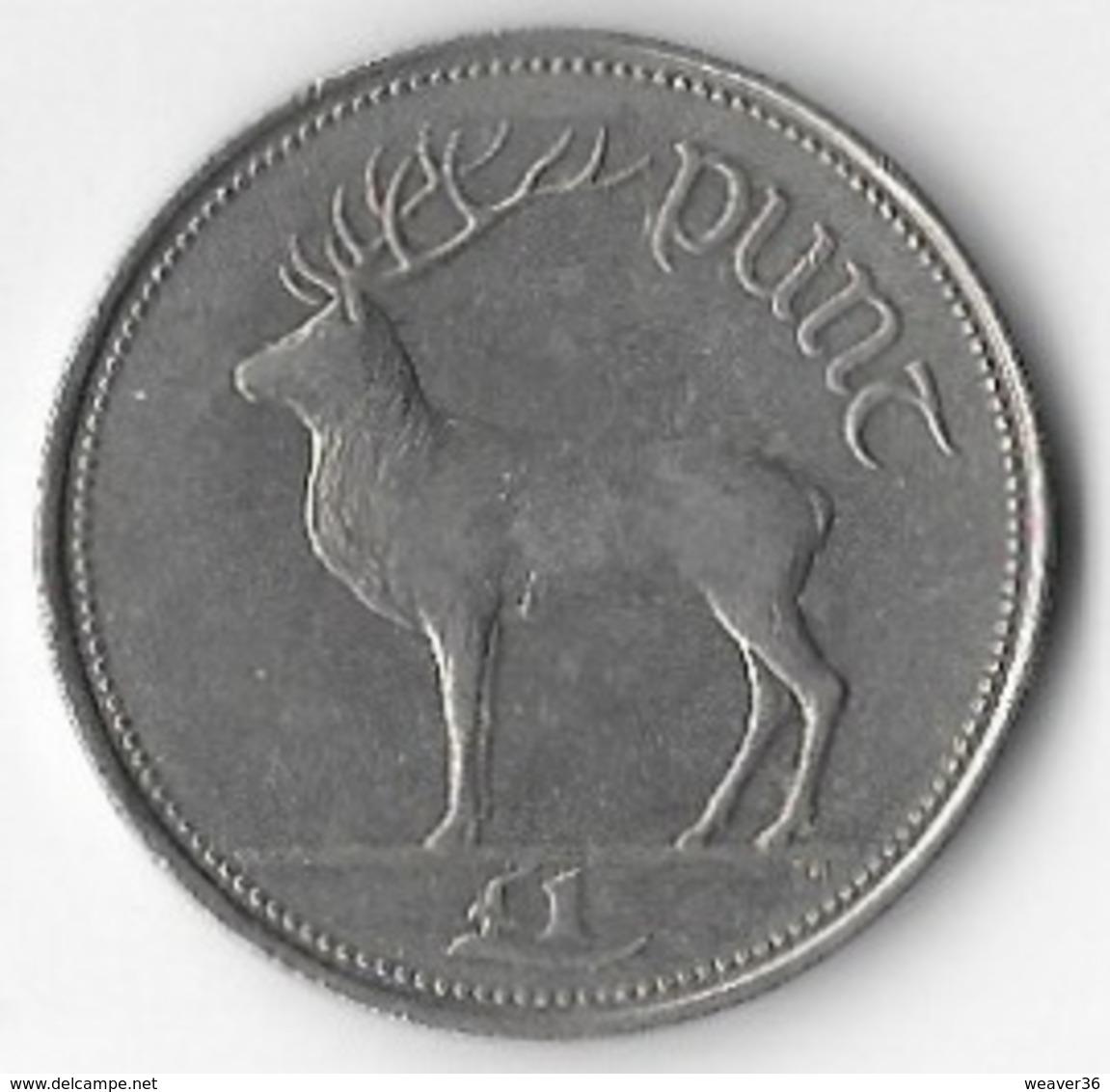Ireland 1990 £1 [C795/2D] - Ireland