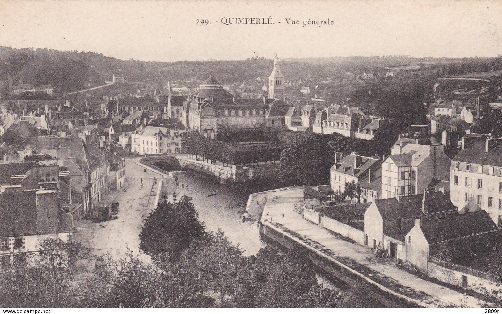 Quimperlet Lot De 3 Cartes - Quimperlé