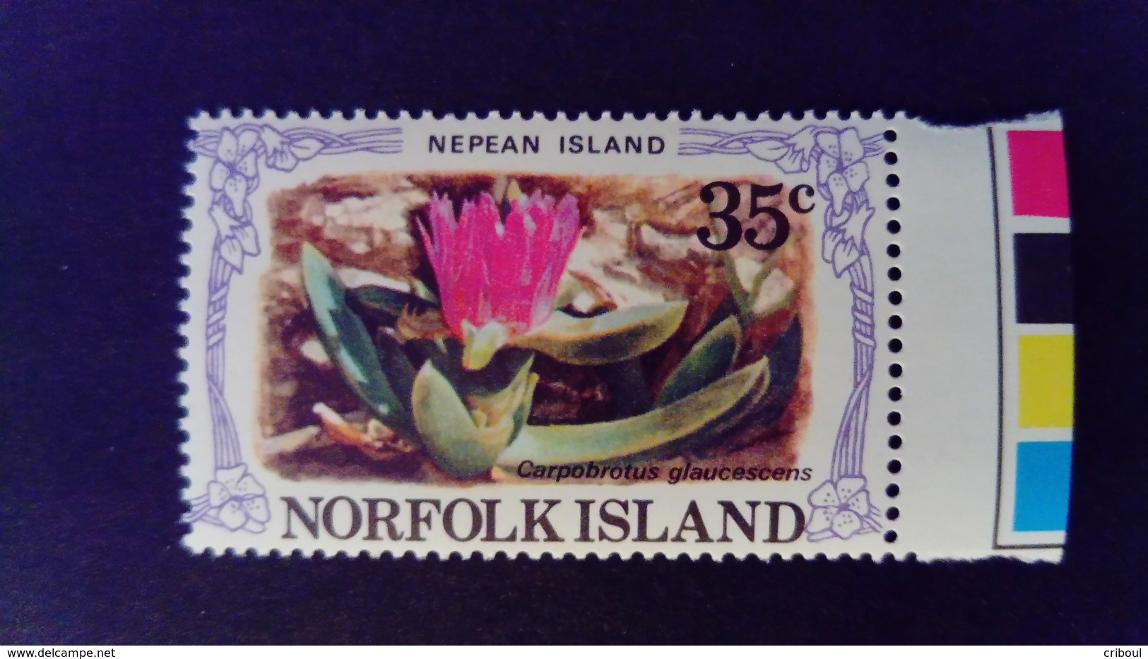 Norfolk 1982 Ile Island Nepean Fleur Flower Yvert 281 ** MNH - Norfolkinsel