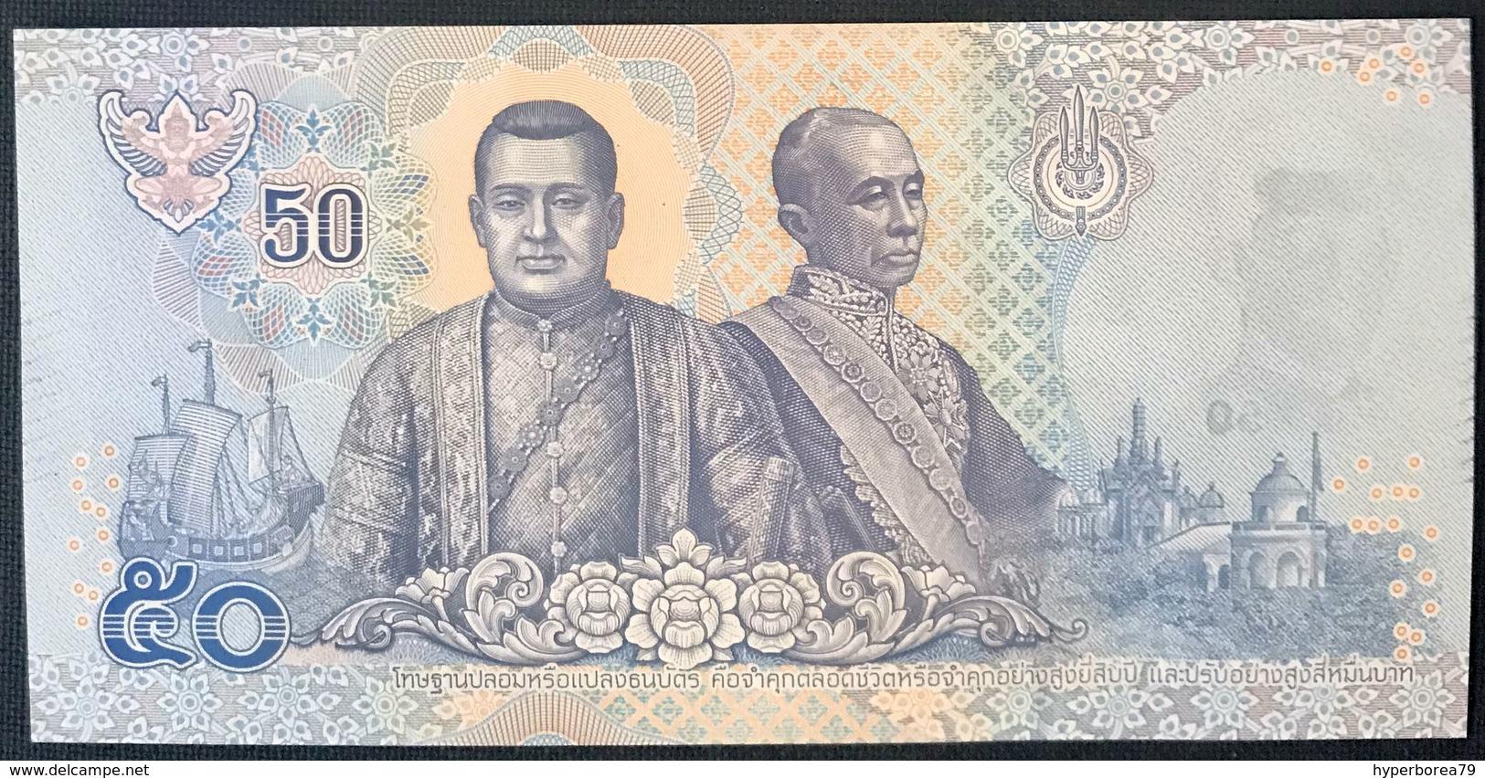 Thailand NEW - 50 Baht 2018 - UNC - Tailandia
