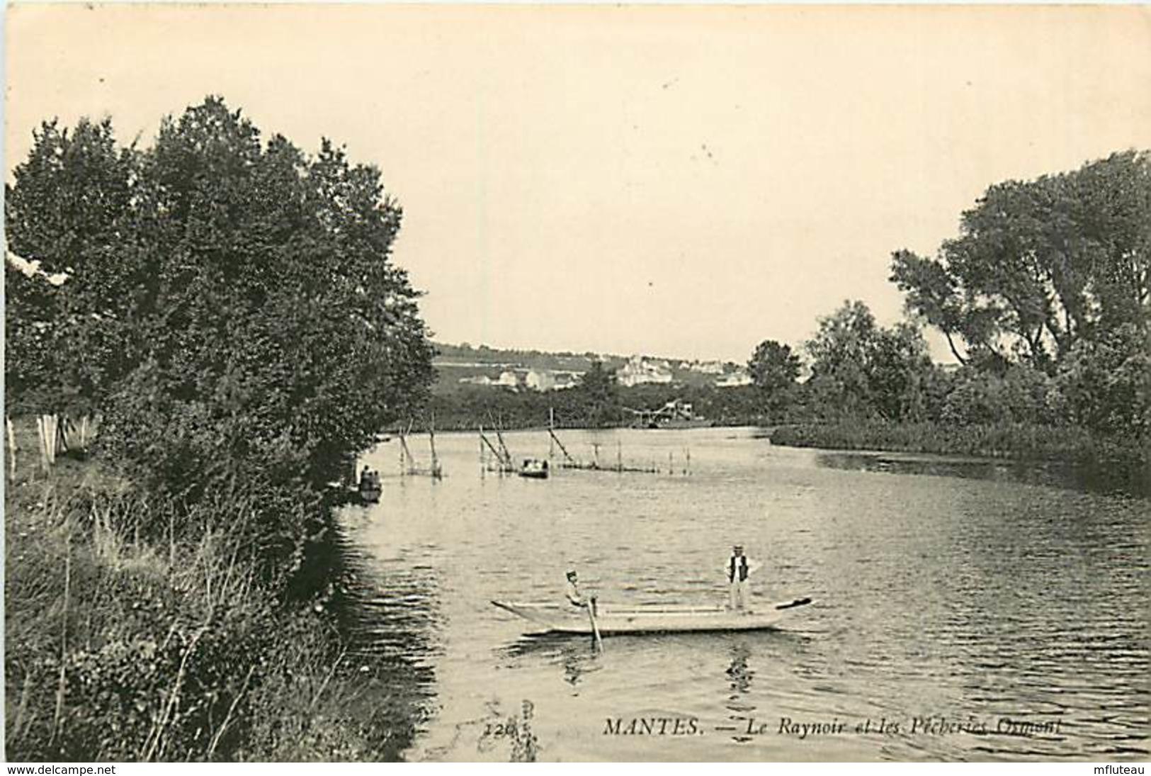 78* MANTES Le Raynoir  - Pecherie Osmont          MA81.470 - Mantes La Ville