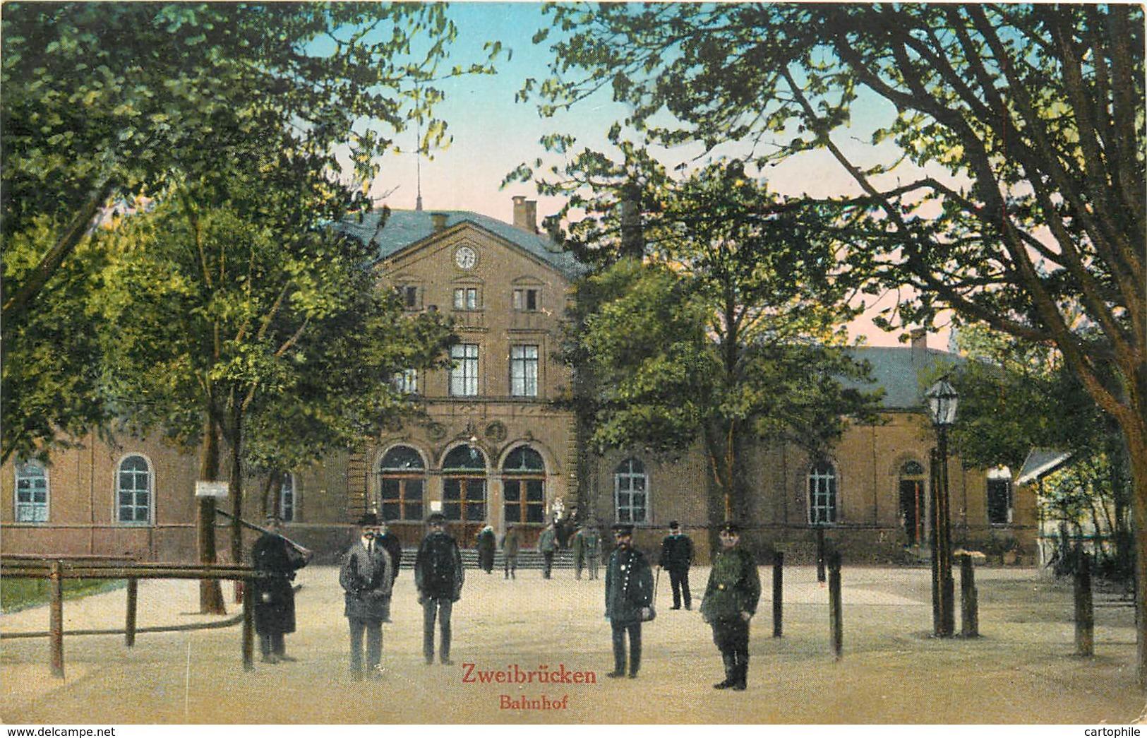 Allemagne - Zweibrucken - Bahnhof - Zweibruecken