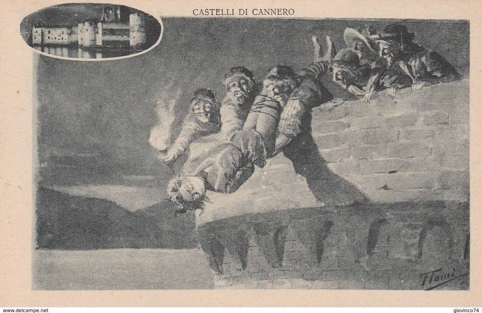 VERBANIA - LAGO MAGGIORE - CASTELLI DI CANNERO....F6 - Verbania