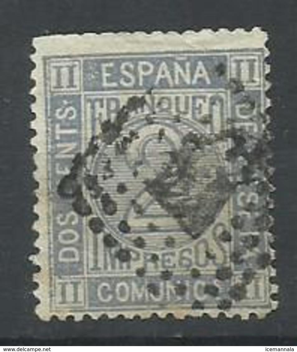ESPAÑA EDIFIL 116 - 1872-73 Reino: Amadeo I