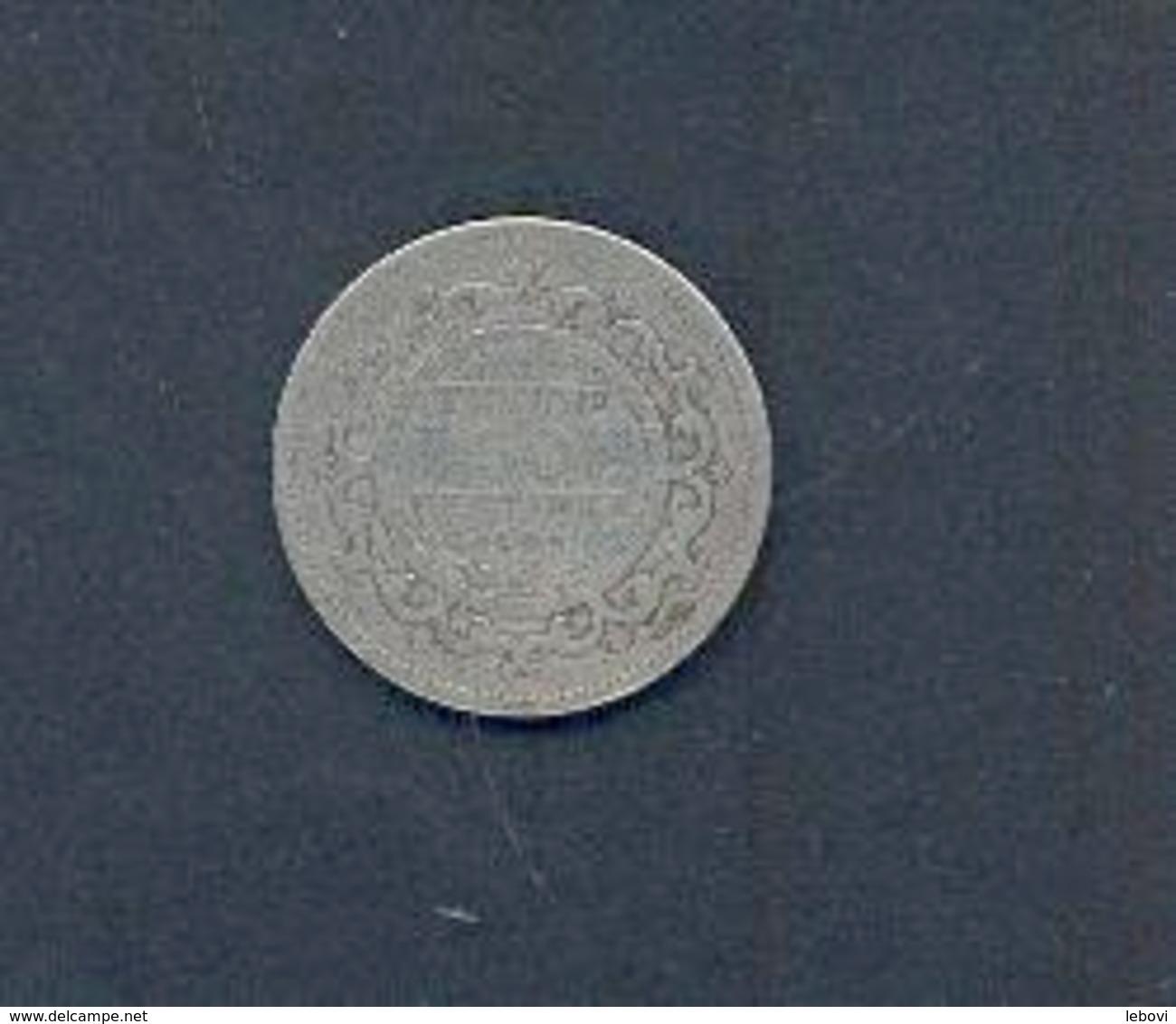 TUNISIE - 50 Centimes  -1891 Argent - Tunisie