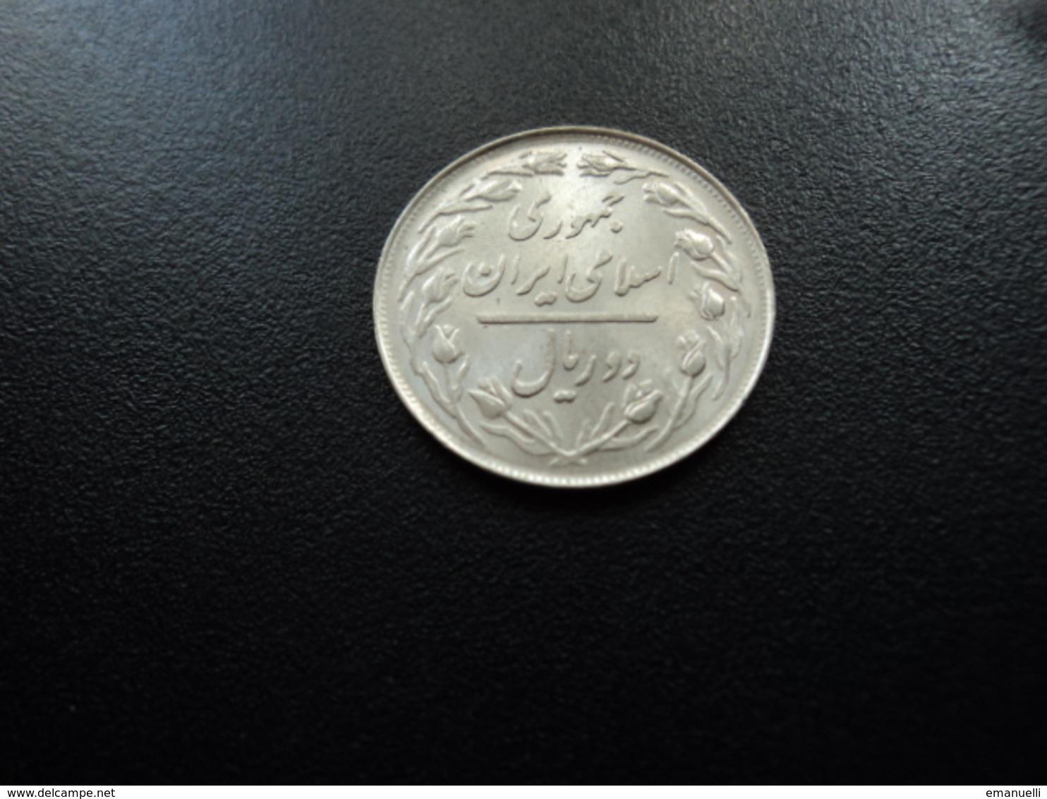 IRAN : 2 RIALS   1358 (1979)   KM 1233    NON CIRCULÉ - Iran