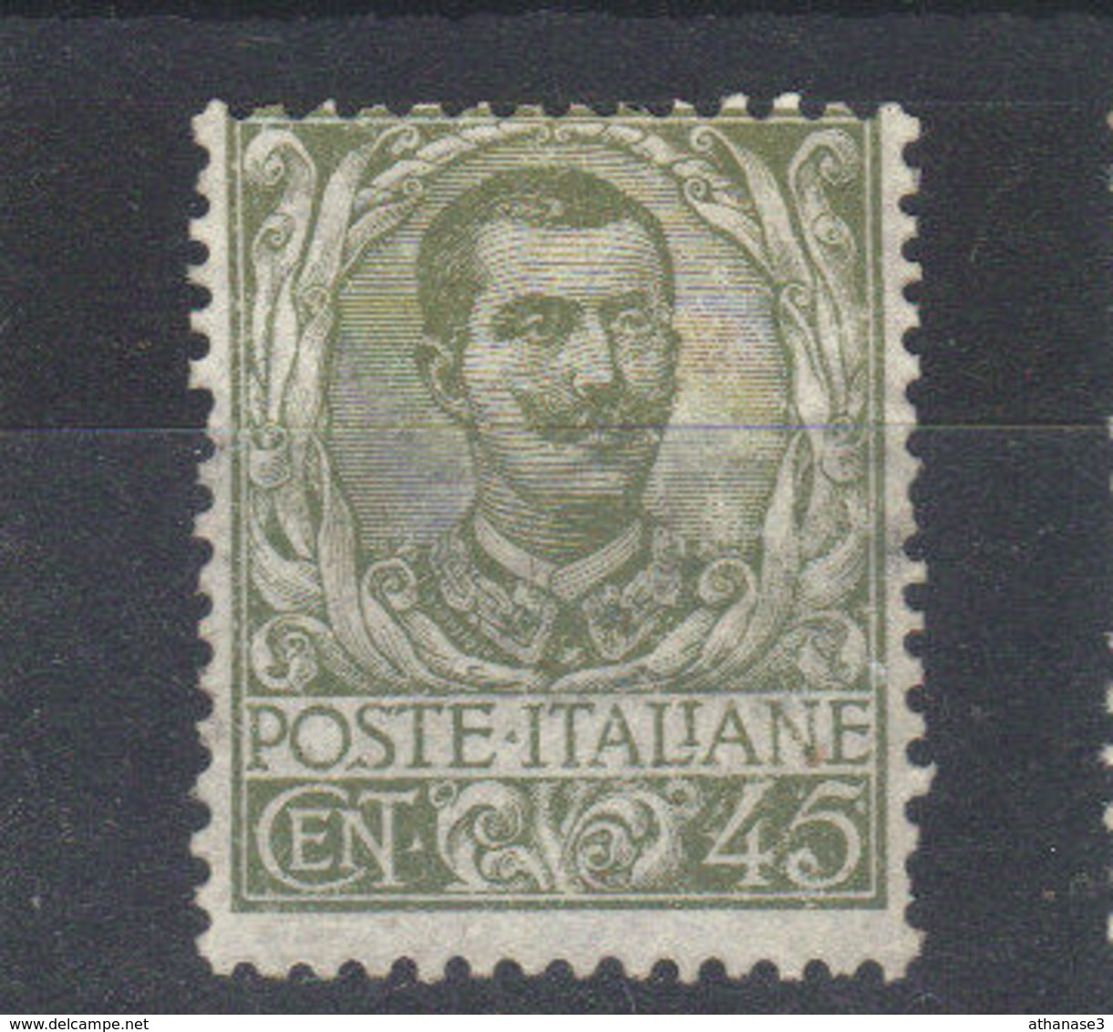 ITALIE       N° 71* (1901) - 1900-44 Vittorio Emanuele III