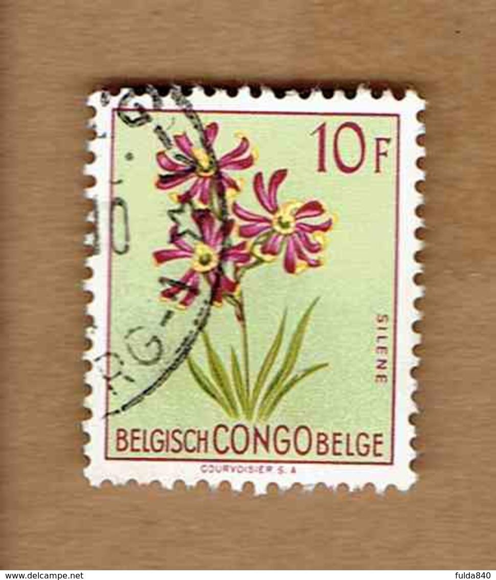 Congo Belge.(COB-OBP)  1952 - N°320    *FLEURS DU CONGO*   10F   Oblitéré - Congo Belge