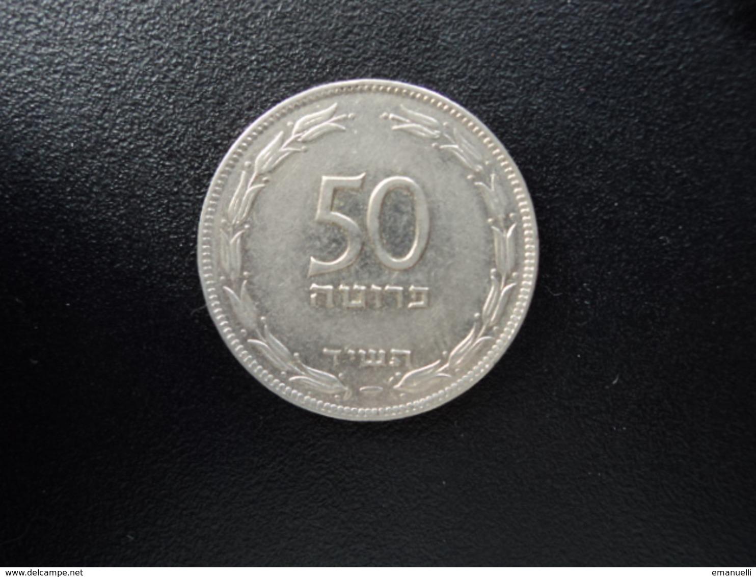 ISRAËL : 50 PRUTA   5714 (1954)   KM 13.2a     SUP - Israel