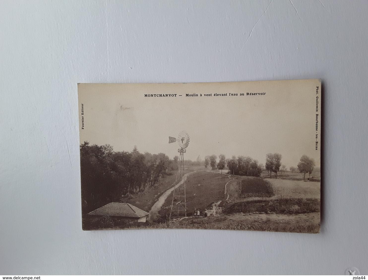 Montcharvot  Moulin à Vent - Autres Communes