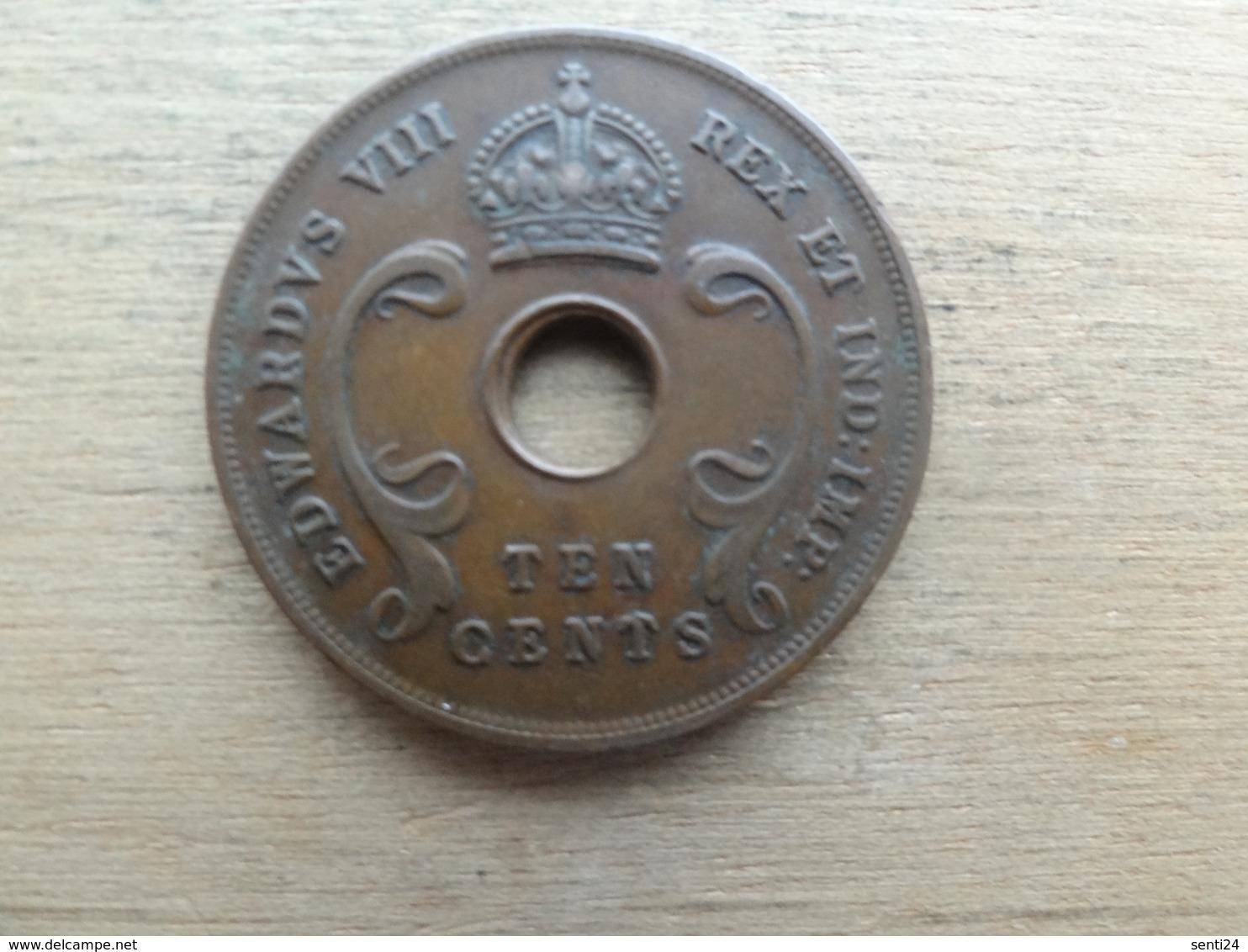 East Africa  10  Cents  1936 H  Km 24 - Colonie Britannique