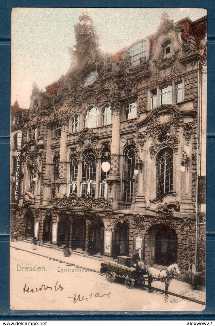 Dresden 1908 --  Viaggiata  -- - Dresden