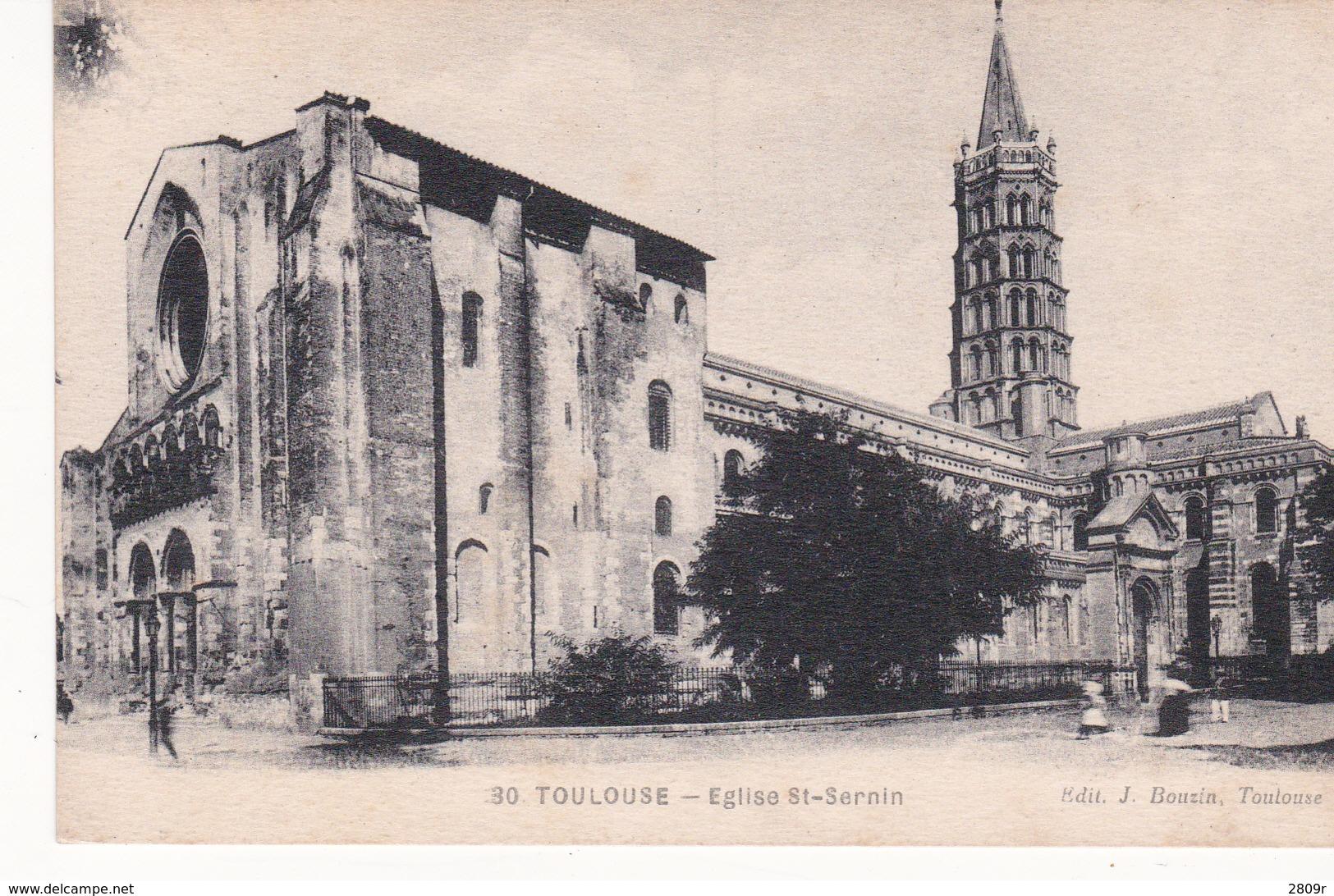 Toulouse Lot De 4 Cartes - Toulouse