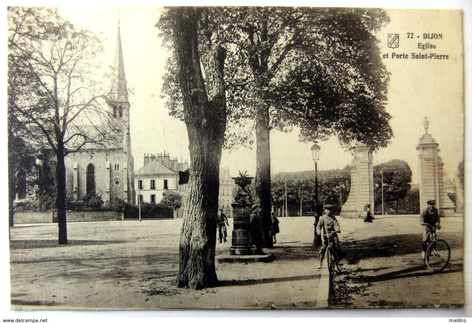 Dijon - Eglise Et Porte Saint-Pierre - Dijon
