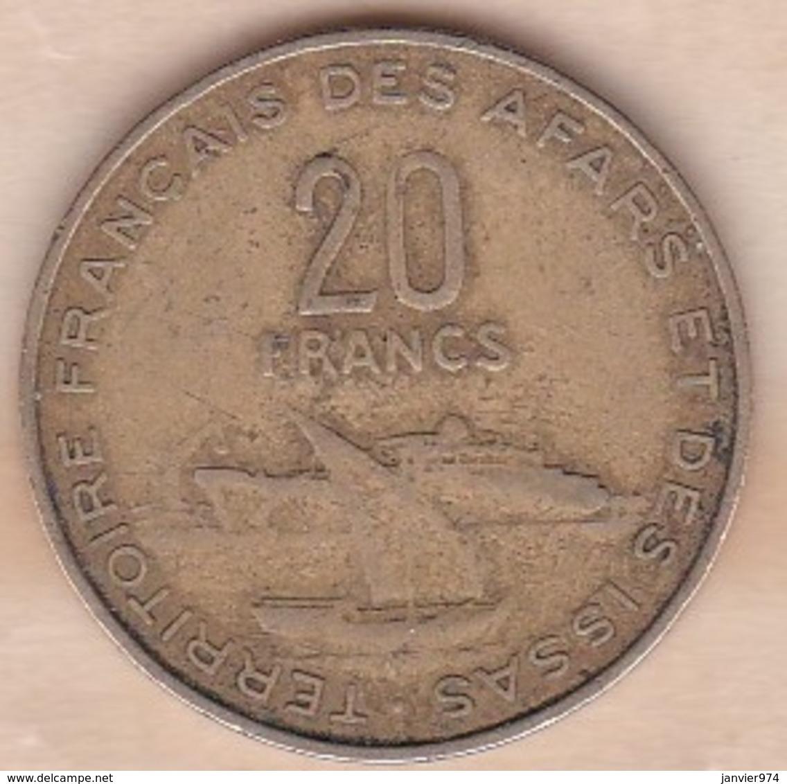 TERRITOIRE FRANCAIS DES AFARS ET DES ISSAS . 20 FRANCS 1975 - Djibouti