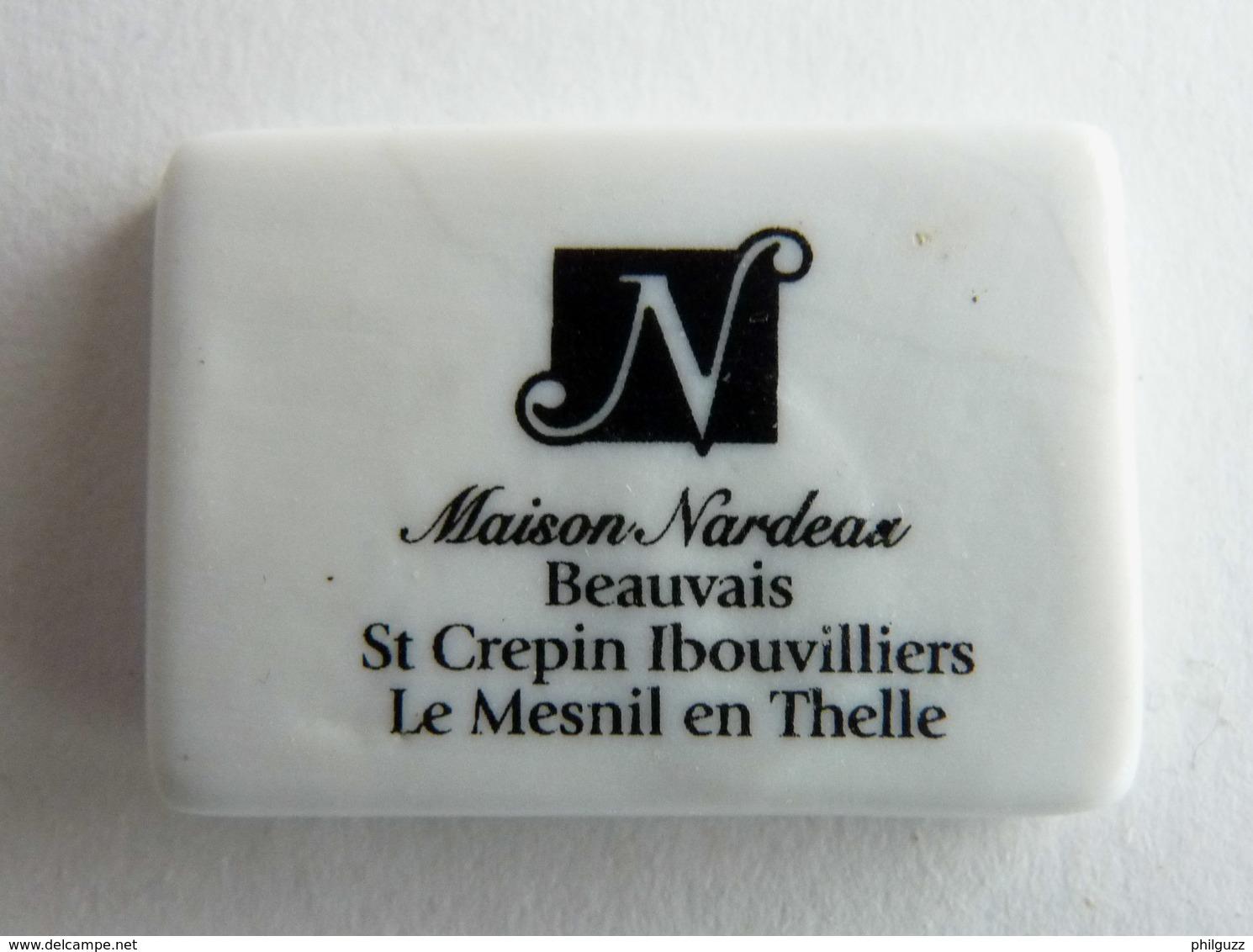 FEVE PUBLICITAIRE PERSO BOULANGERIE MAISON NARDEAU BEAUVAIS 60 - Anciennes
