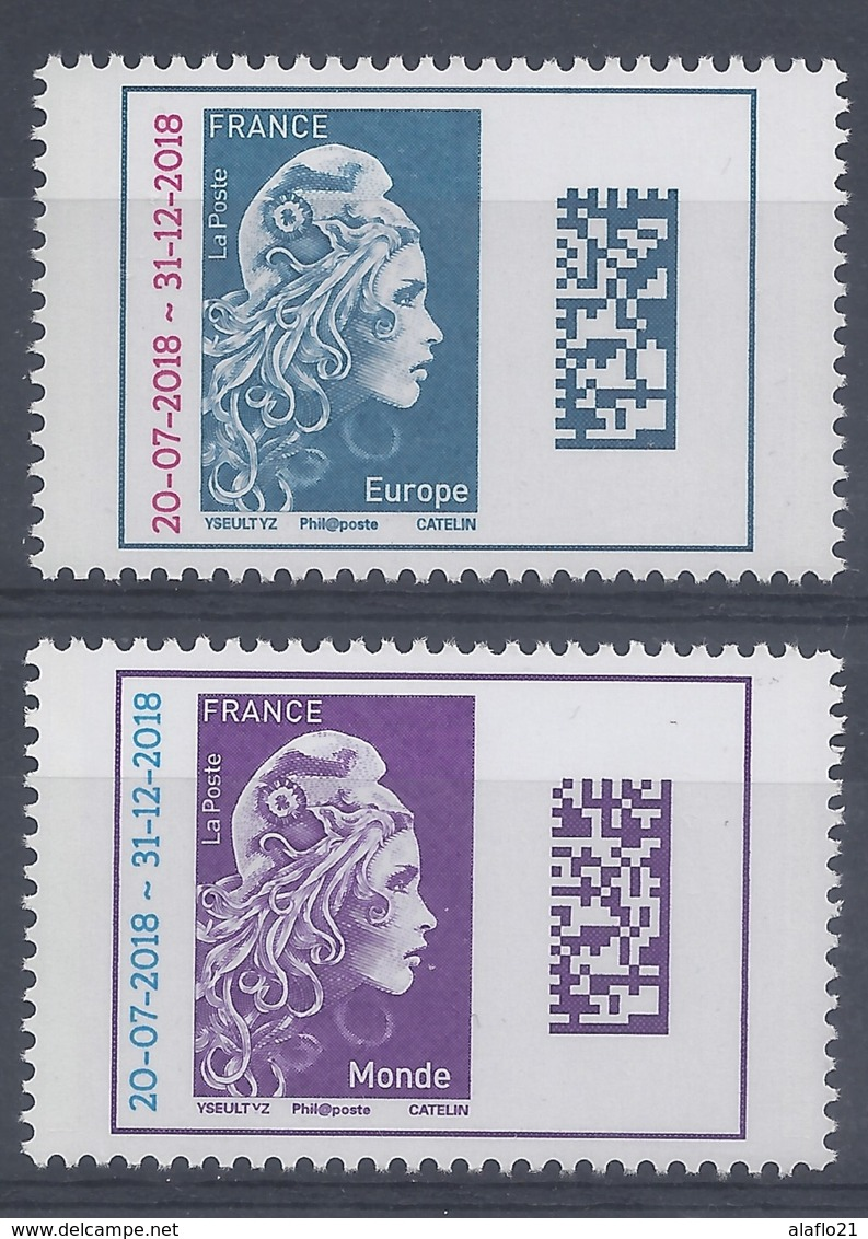 MARIANNE L'ENGAGEE EUROPE Et MONDE - TIMBRES SURCHARGES - NEUFS** LUXE - 2018-... Marianne L'Engagée