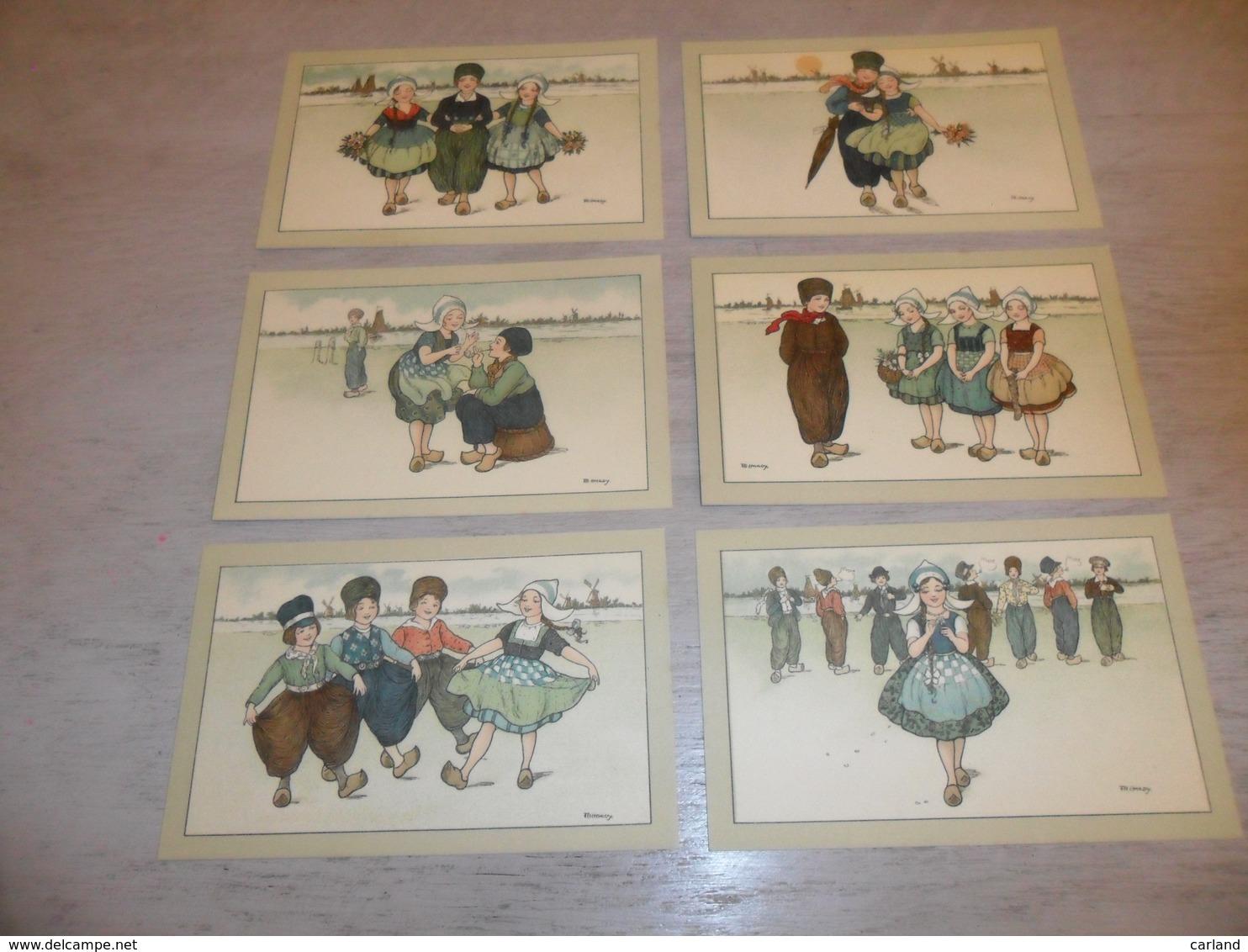 Illustrateur  Florence Hardy   Serie De 6 Cartes Postales  Enfants  Enfant  Fillette - Hardy, Florence