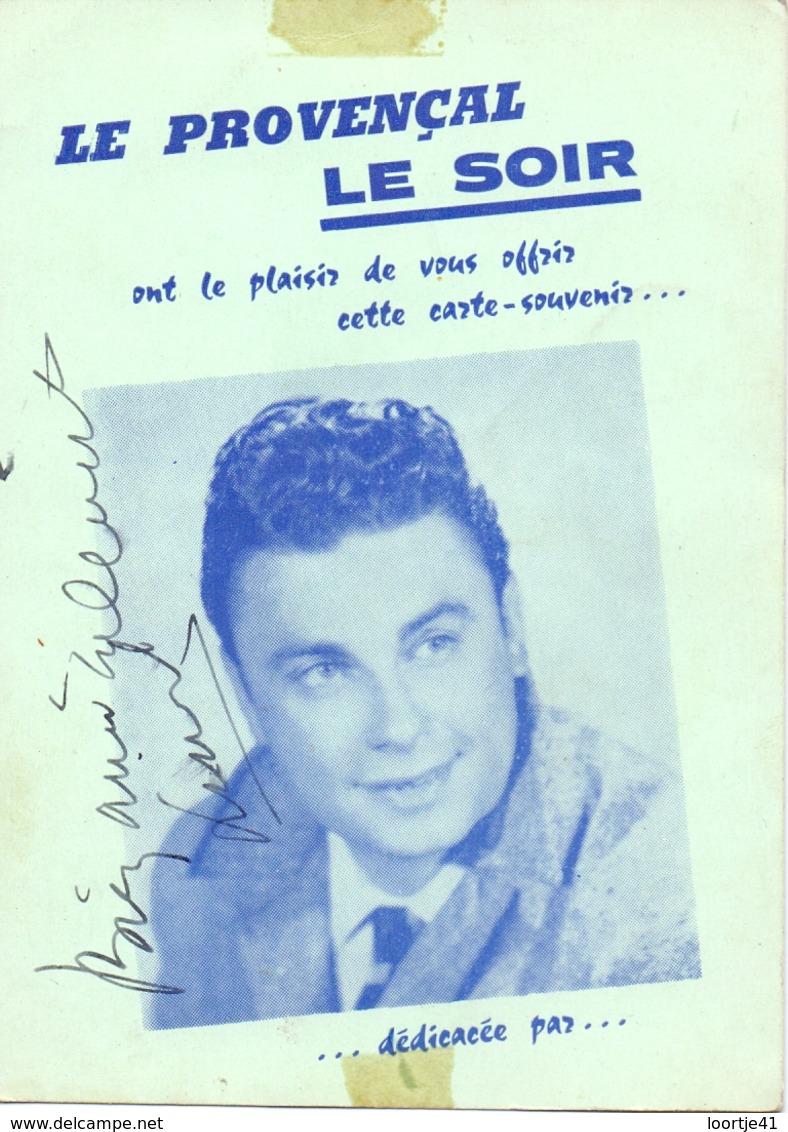 Photo Foto - Artiste Theatre Opera - Handtekening Autographe  Lionel Patrick - Autographes