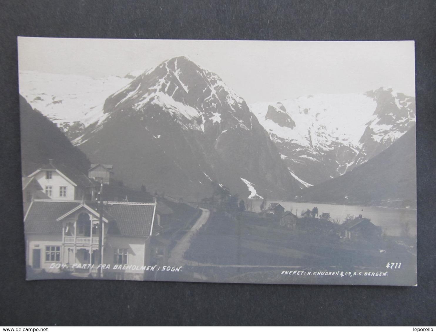 AK BALHOLMEN I Sogn  Ca.1910  ///  D*35360 - Norwegen