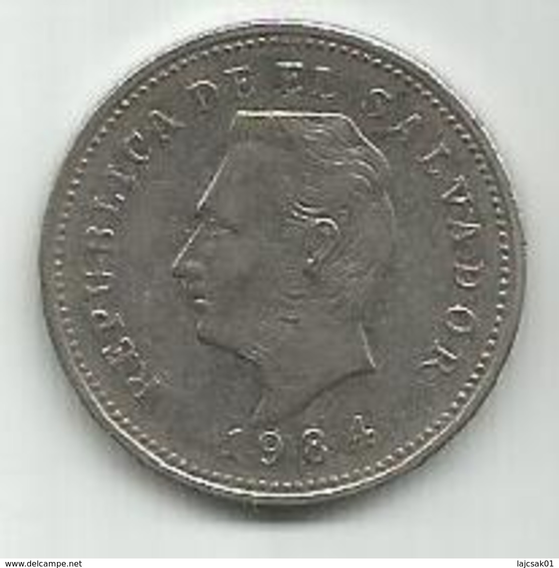 El Salvador 5 Centavos 1984. KM#149a - Salvador