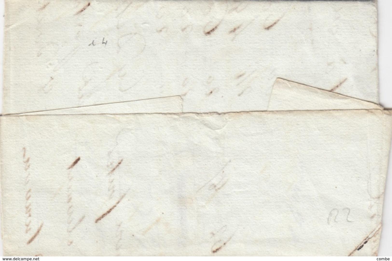 LETTRE . PUY-DE-DOME. 62/CLERMONT/PUY DE DOME POUR SAUXILLANGES. TAXE 2  / 2 - Poststempel (Briefe)