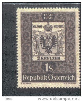 Österreich 950 Tag Der Briefmarke  MNH Postfrisch ** - 1945-.... 2. Republik