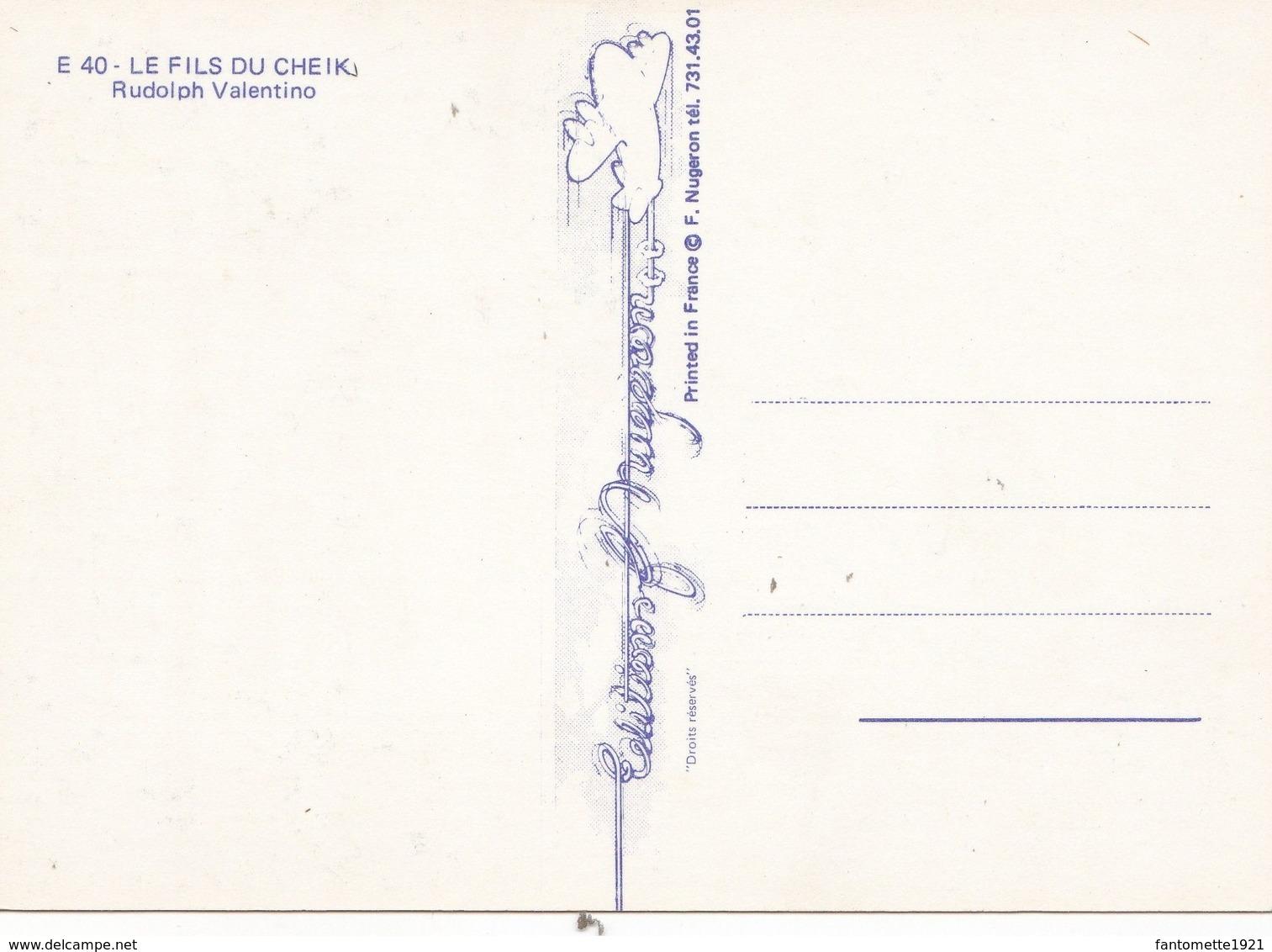 LE FILS DU SHEIK (dil420) - Affiches Sur Carte