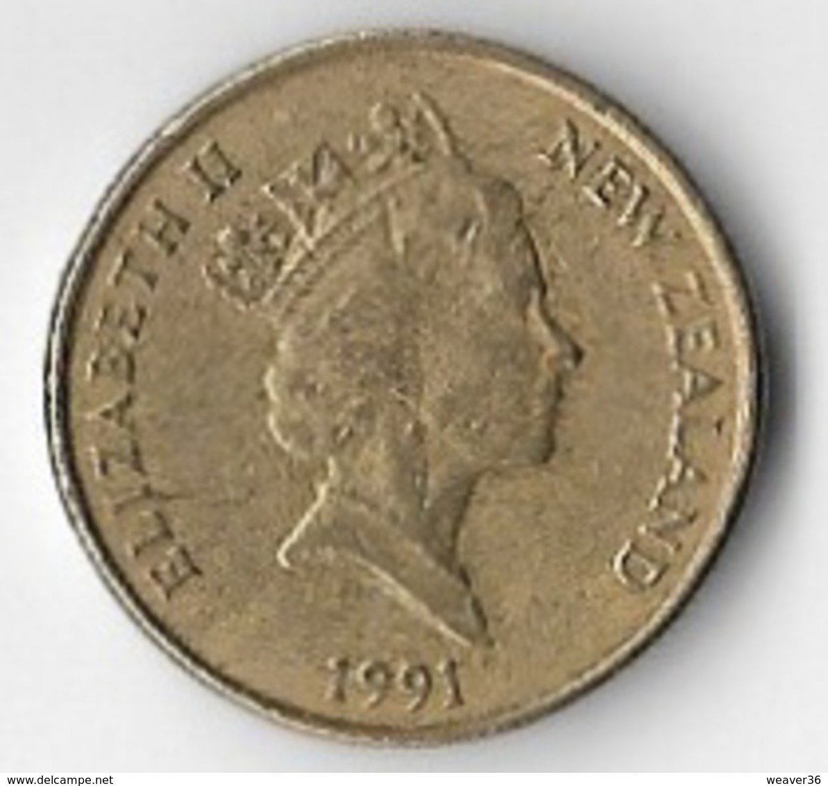 New Zealand 1991 $1 [C808/2D] - New Zealand