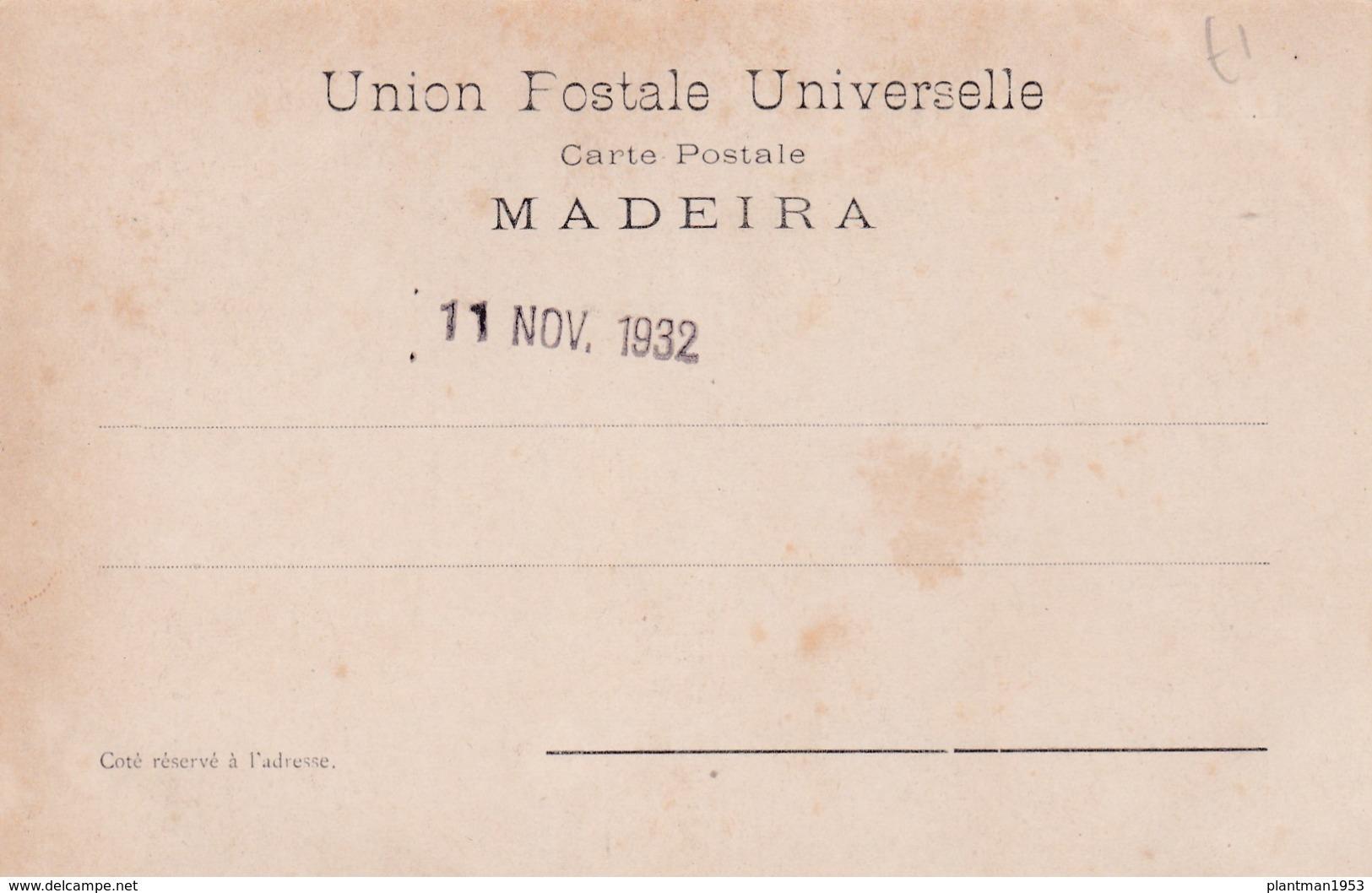Old Post Card Of Caminho Do Monte,Funchal Madeira, Portugal,R78. - Madeira