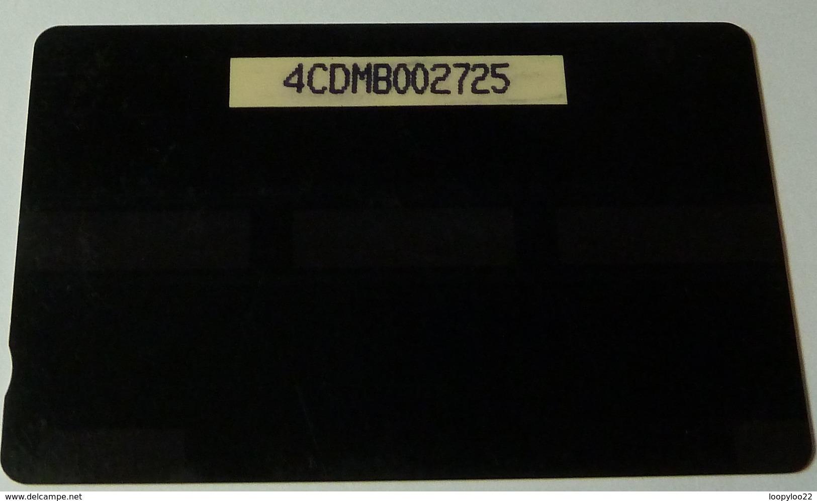 DOMINICA - GPT - 4CDMB - $20 - DOM-4B - Emerald Pool - White Strip - Used - Dominique