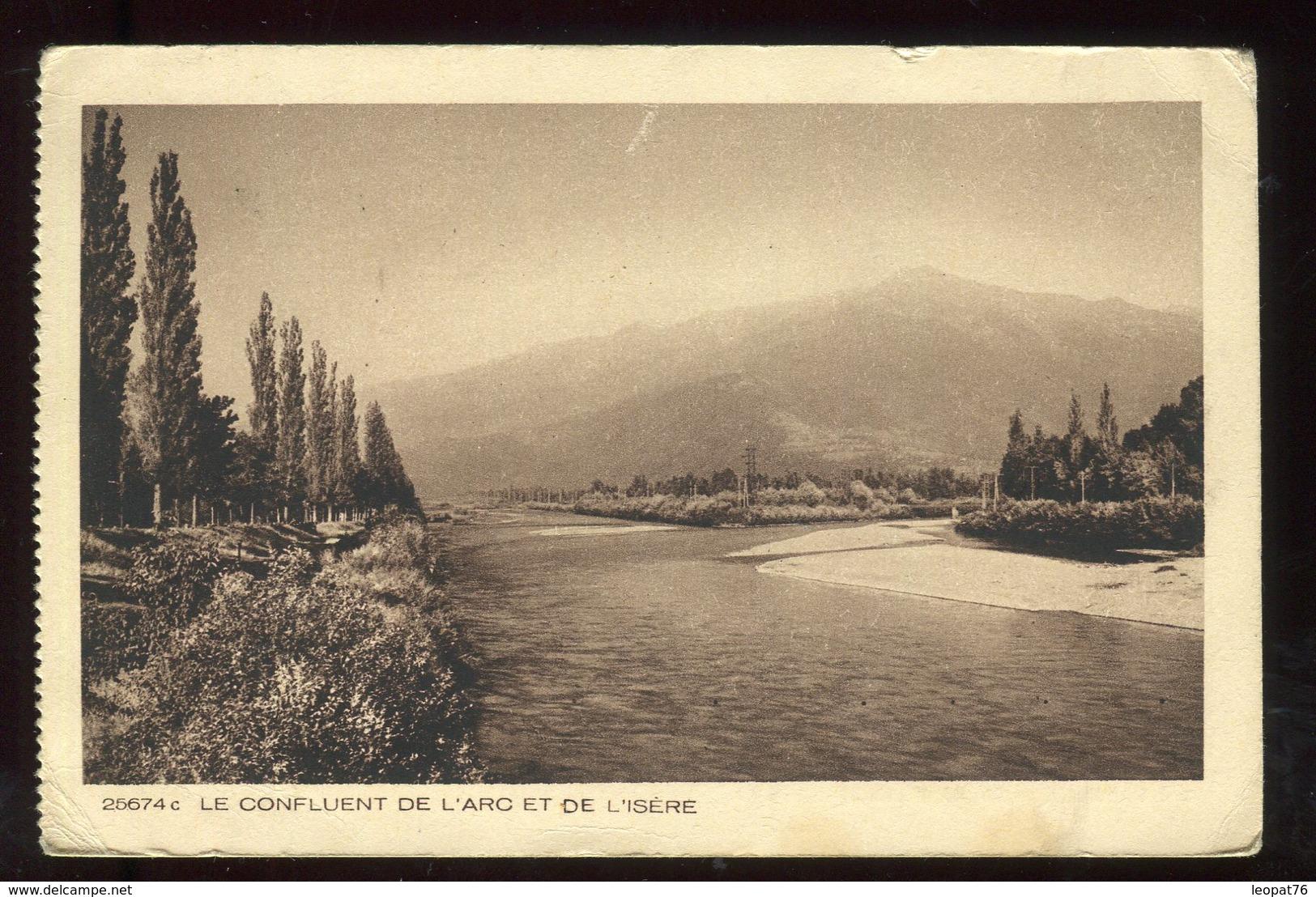 Carte Postale En FM De Bourg Saint Maurice Pour Fuveau En 1942 - N289 - Marcophilie (Lettres)