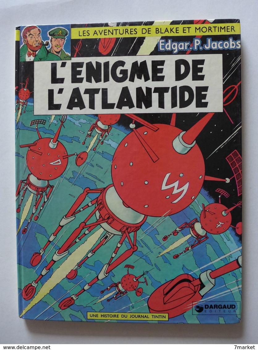 Blake Et Mortimer - L'énigme De L'Atlantide / Rééd. 1977 - Blake Et Mortimer