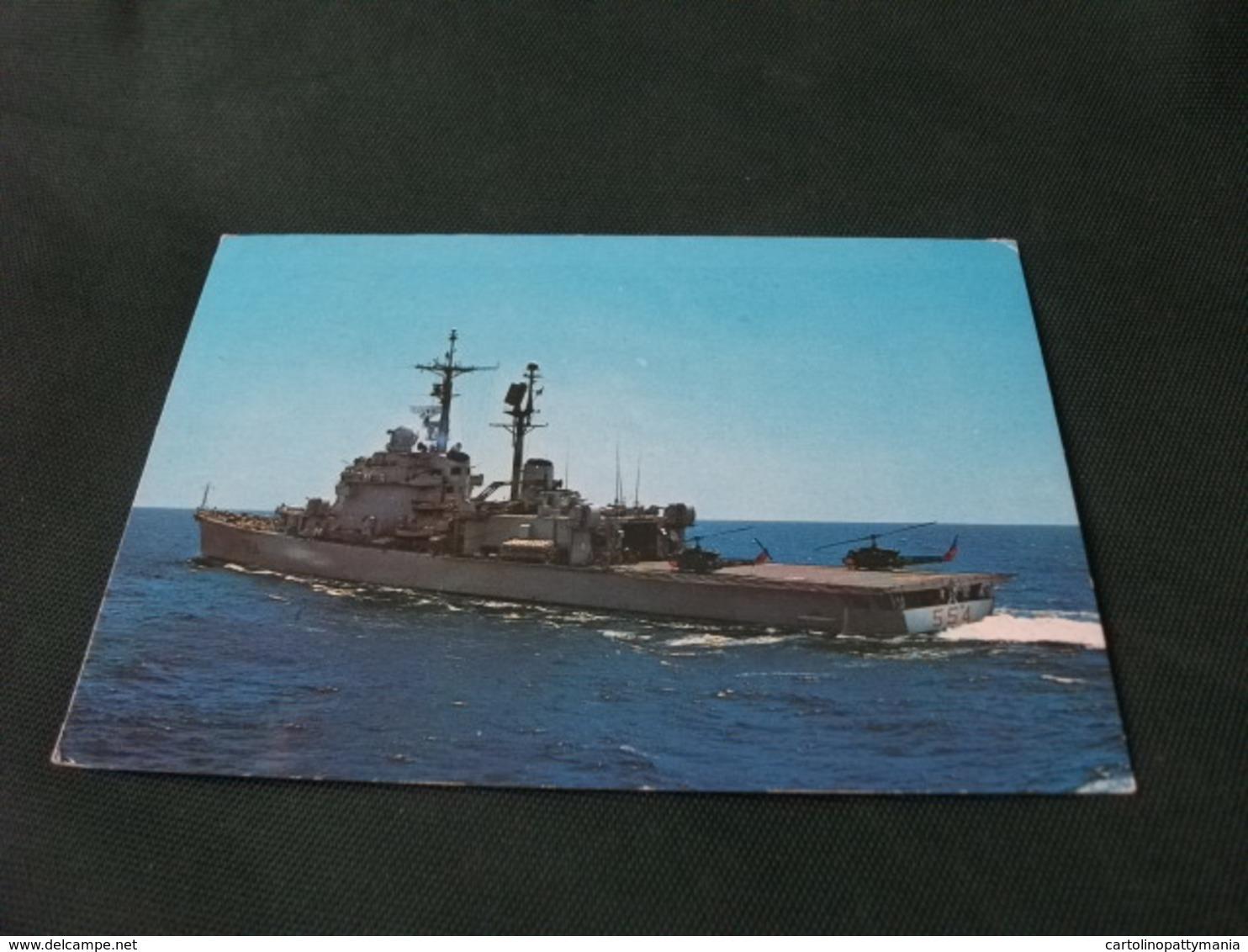 NAVE SHIP GUERRA INCROCIATORE CAIO DUILIO - Guerra