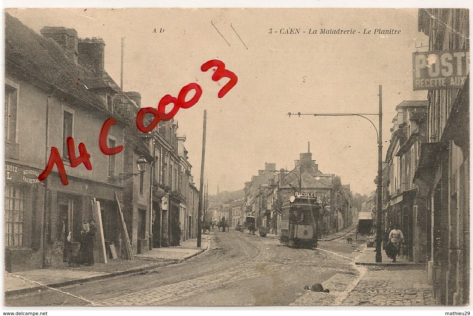 CAEN  La Maladrerie Le Planitre - Caen