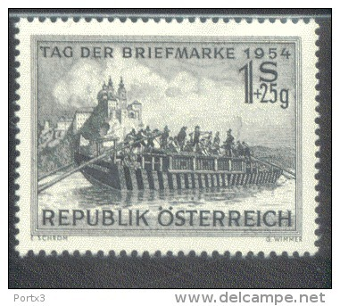 Österreich 1010 Tag Der Briefmarke  MNH Postfrisch ** - 1945-60 Ungebraucht