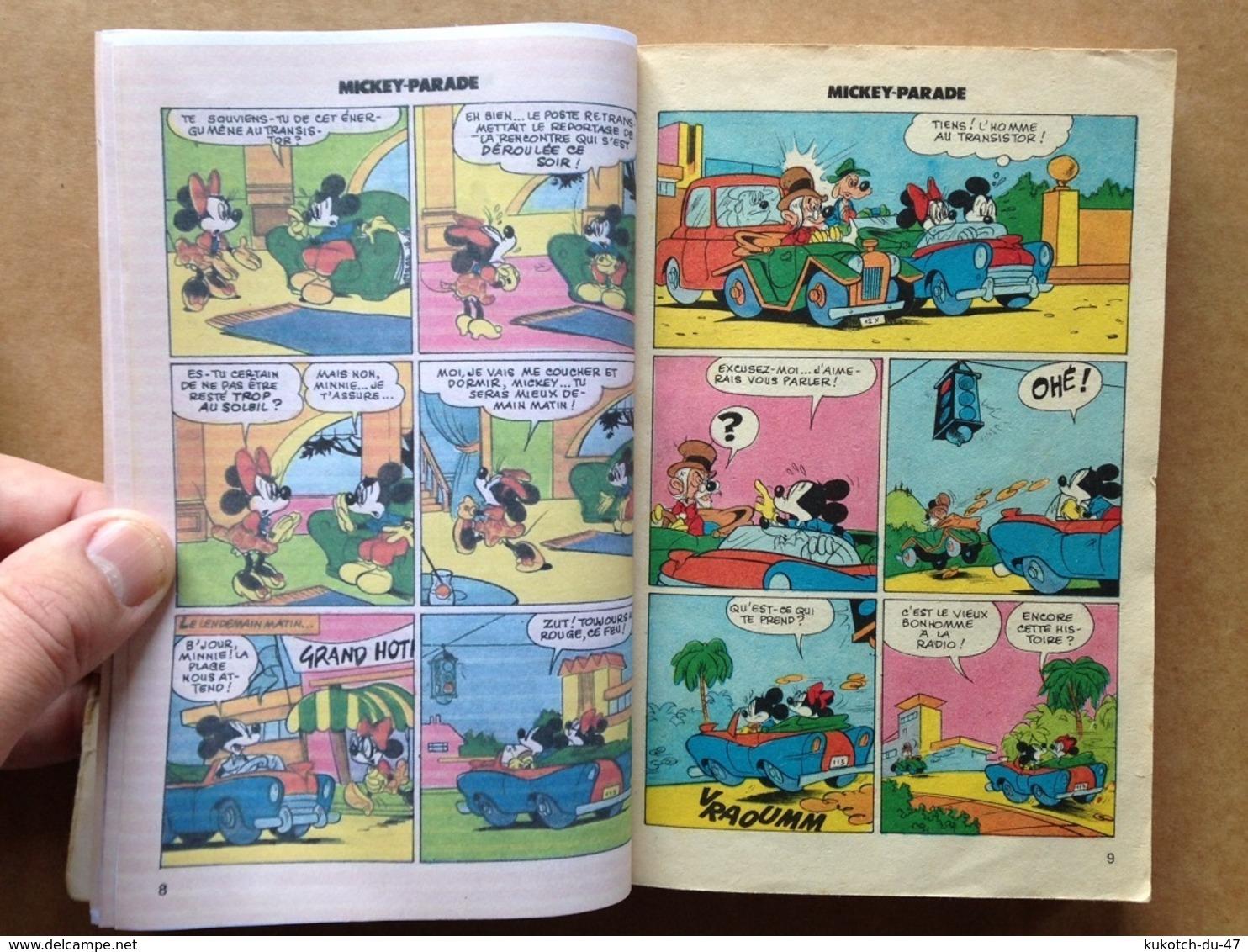 Disney - Mickey Parade - Année 1983 - N°45 (avec Grand Défaut D'usure) - Mickey Parade