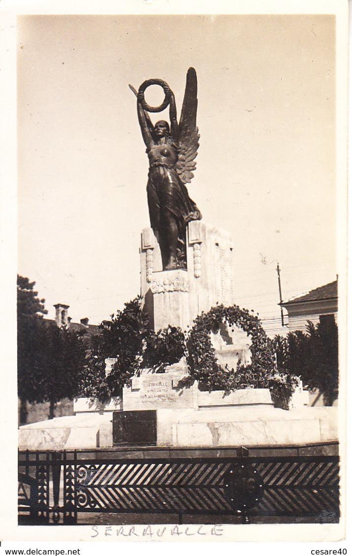 ITALIA - SERRAVALLE (ferrara) - Monumento A .......fotografica, Anni 10/20 - 2018-4-208 - Altre Città