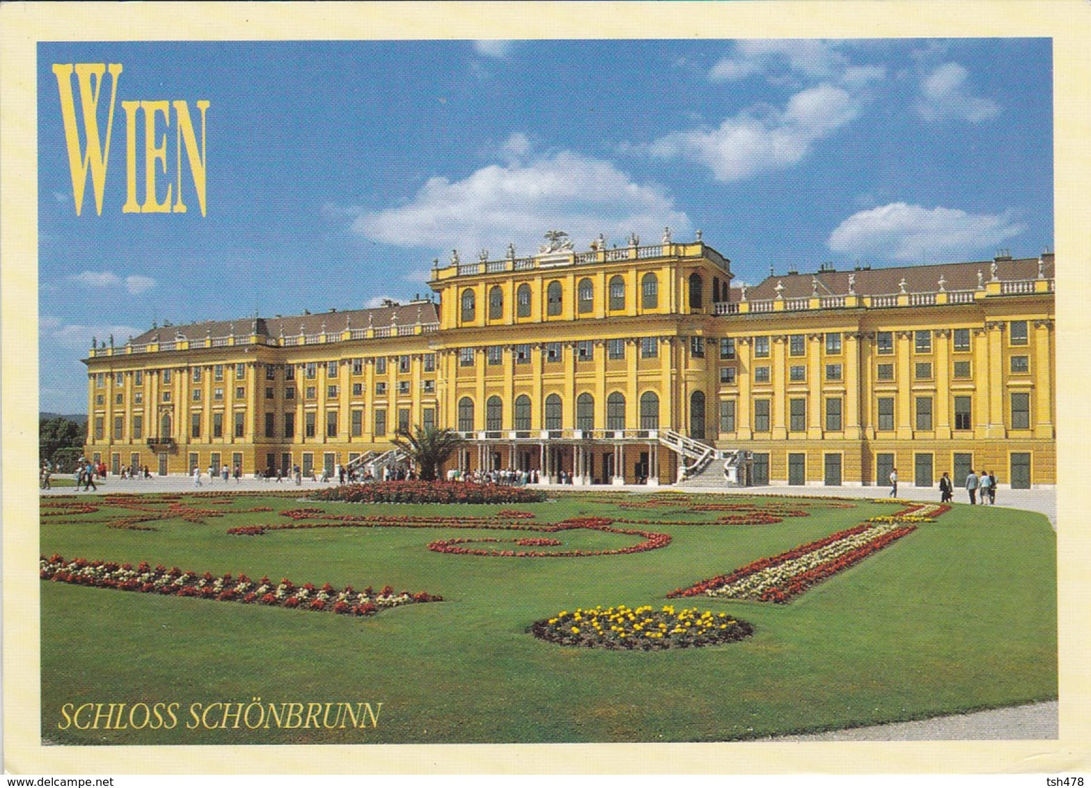 AUTICHE--WIEN--schloss Schônbrunn--voir 2 Scans - Château De Schönbrunn