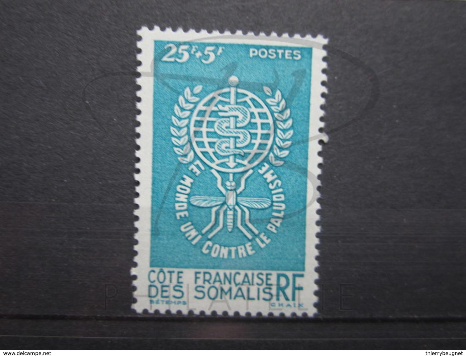 VEND BEAU TIMBRE DE LA COTE FRANCAISE DES SOMALIS N° 304 , XX !!! - Neufs